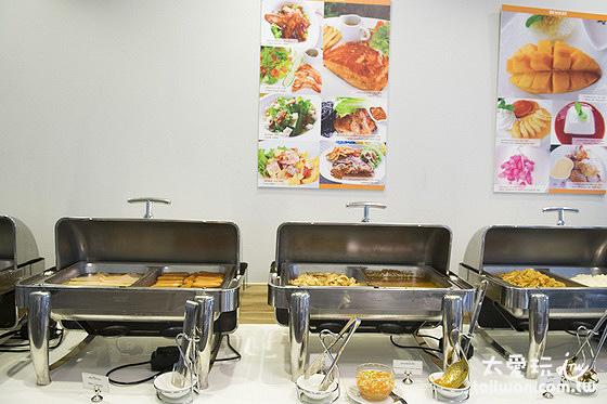 喀比海鱸飯店自助式早餐