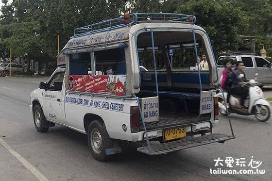 宋條是泰國很普遍的大眾交通工具