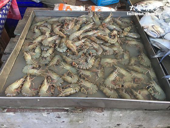 傳統市場賣的大蝦