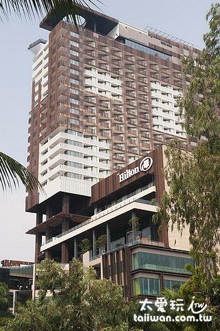 希爾頓芭達雅飯店是南芭達雅的地標與話題