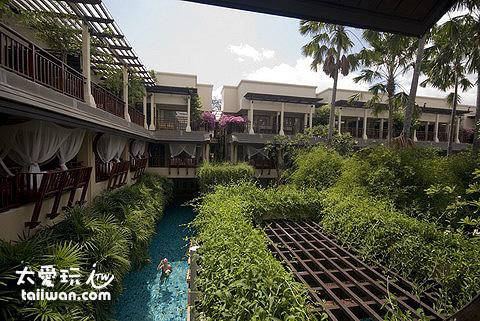 Burasari布拉莎麗酒店房間陽台外景色