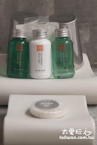 Costa Lanta浴室備品是很有名的泰國本土品牌Thann