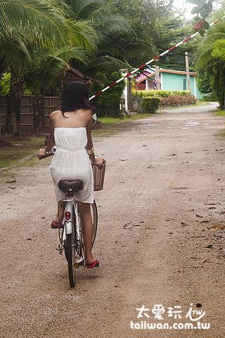 Costa Lanta騎單車很浪漫