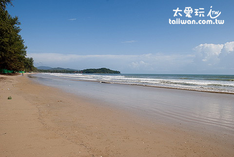 Costa Lanta的海灘