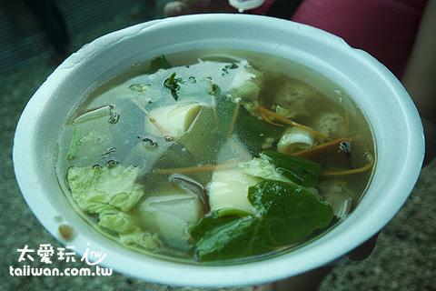 好吃的雜菜湯