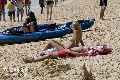 Ao Phra Nang海灘風光