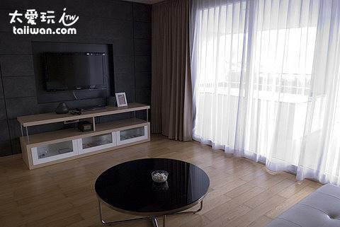 雙房公寓客廳