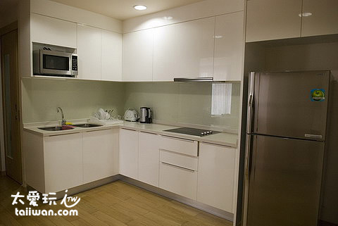 雙房公寓廚房