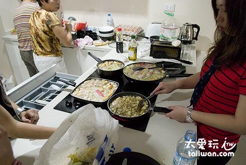 廚房可以自己煮