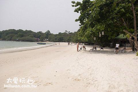 沙美島是個外國觀光客不多的小島
