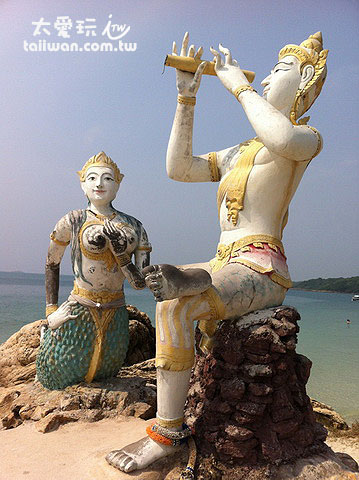 Saikaew有美麗的人魚與吹笛王子的故事