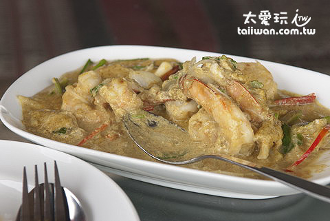 海鮮綠咖哩超好吃