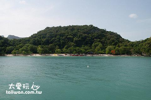 臥牛島Koh Woa Ta Lab海灘