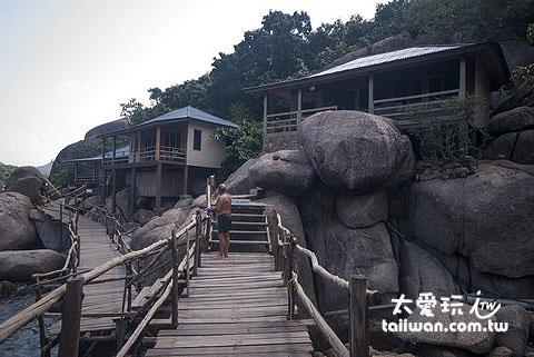 南園島Koh Nangyuan是我推薦一定要去住一晚的地方
