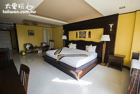龜島飯店蒙特拉渡假村Koh Tao Montra Resort房間超大