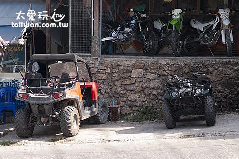 也有ATV越野沙灘車可以租