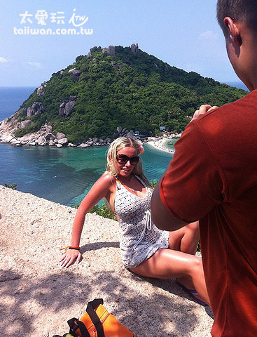 南園島是遊客拍照的最愛