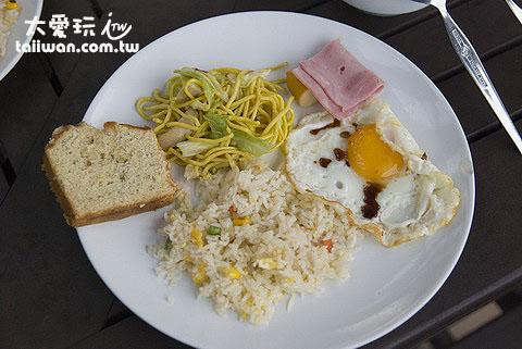 南園島早餐味道很不錯!