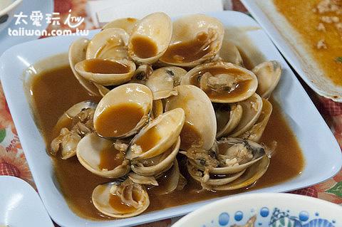 炒海瓜子的口味跟台灣不一樣