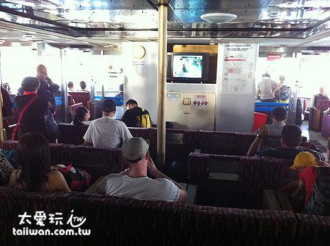 船艙空間舒適