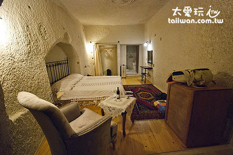 Aydinli Cave House簡單、溫馨、有特色的布置