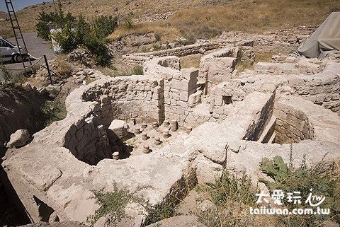 西元5世紀Byzantine帝國時期的羅馬浴場古蹟