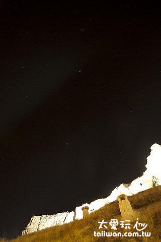 Kayakapi Premium Caves Cappadocia的星空