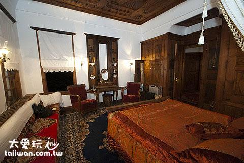 Mehves Hanim Konagi就是這麼一間由鄂圖曼帝國式豪宅所改裝的民宿