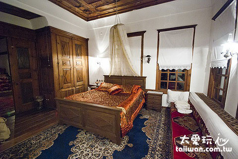 Mehves Hanim Konagi美麗的古典客房