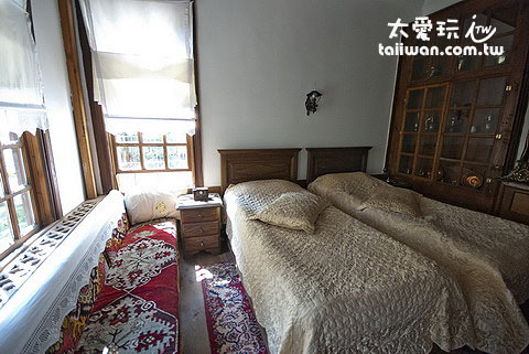 Mehves Hanim Konagi雙床客房