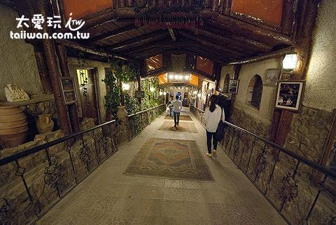 Yasar Baba餐廳感覺像在地下