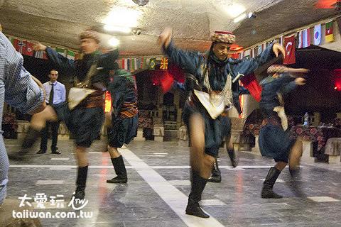 很有波斯風格的舞蹈
