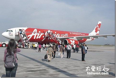 亞洲航空的飛行網路最密集